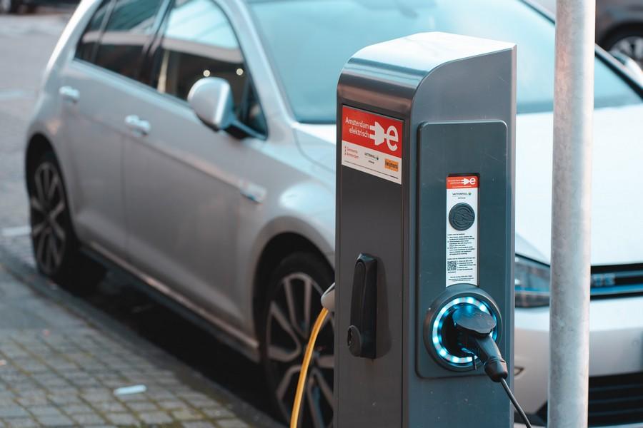 borne de charge voiture électrique