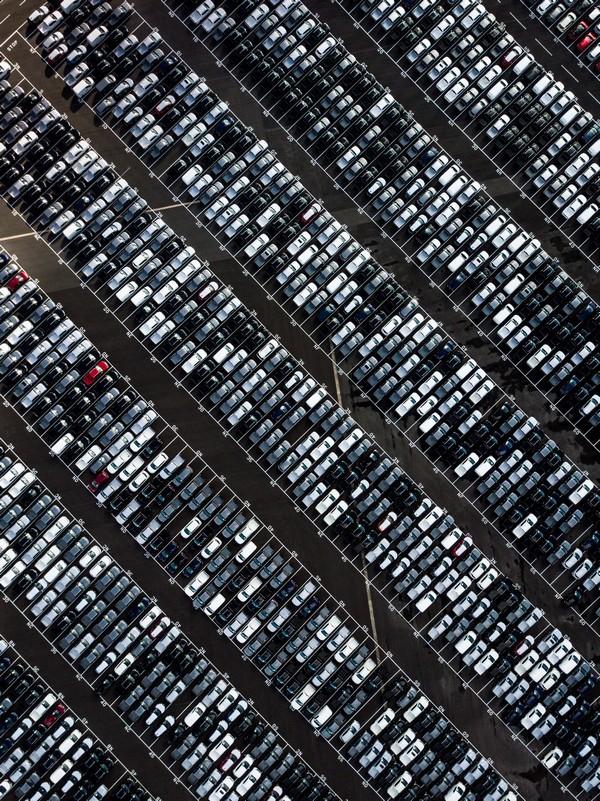 parc de voitures à vendre